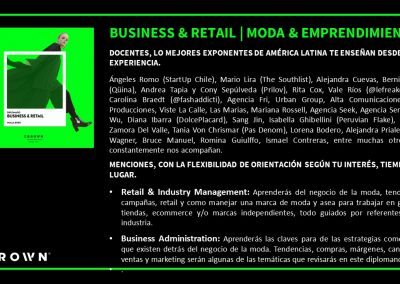 BUSINESS & RETAIL